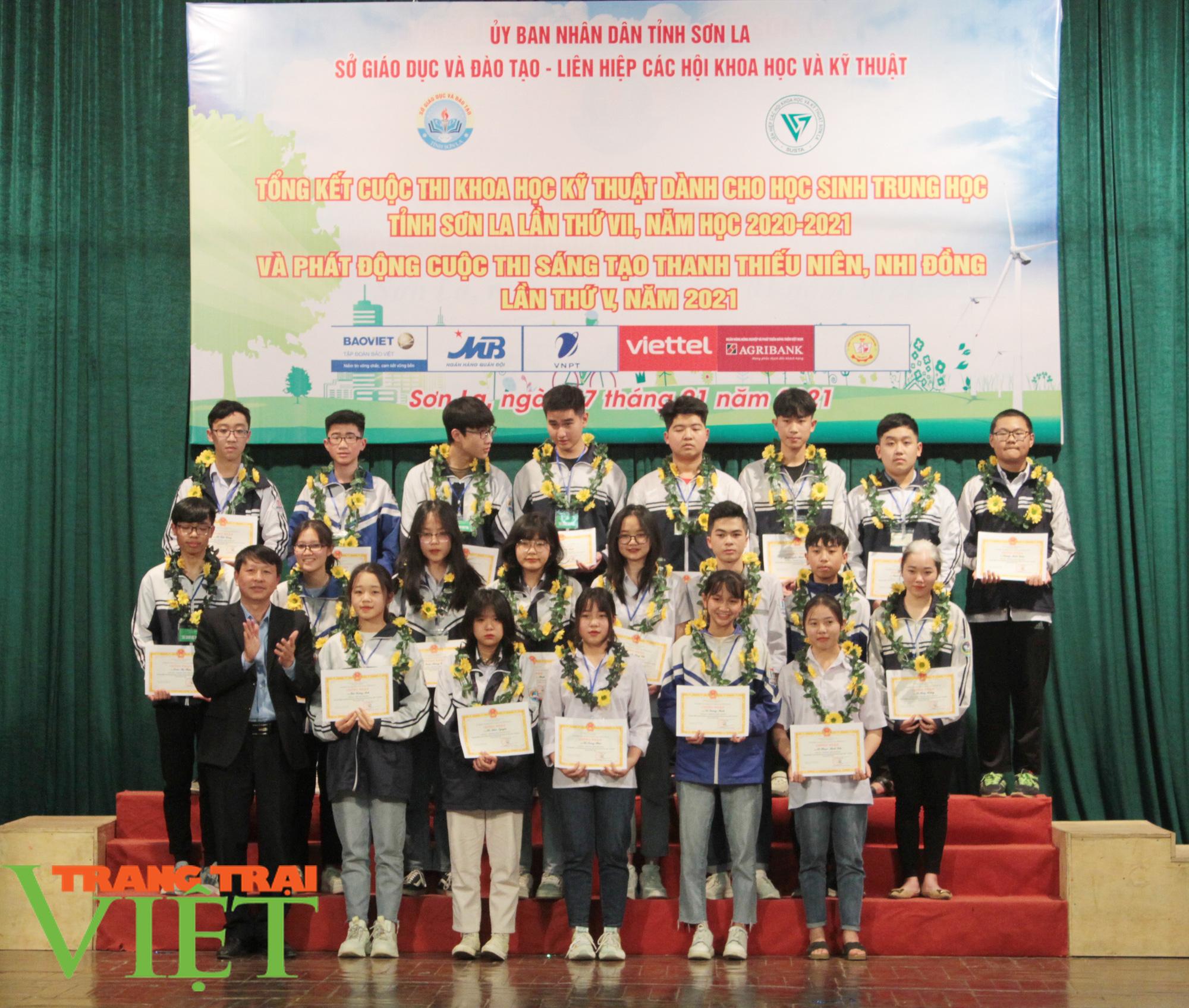 Sơn La: 81 dựa án đoạt giải Cuộc thi khoa học kỹ thuật cấp tỉnh - Ảnh 3.