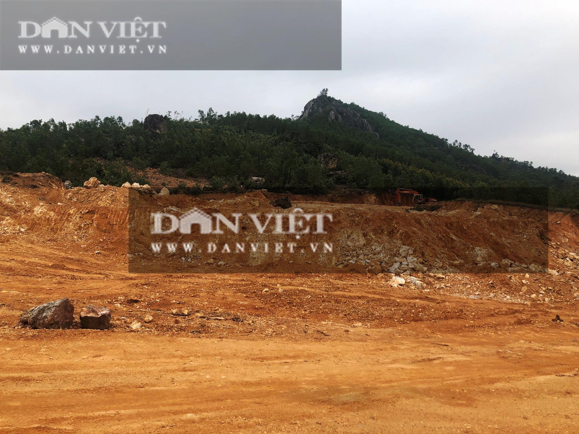 """Bất thường thi công công trình nhà nước chục tỷ ở Bình Định: Sẽ hợp thức hóa """"đất lậu""""… từ mỏ có giấy phép(?) - Ảnh 4."""