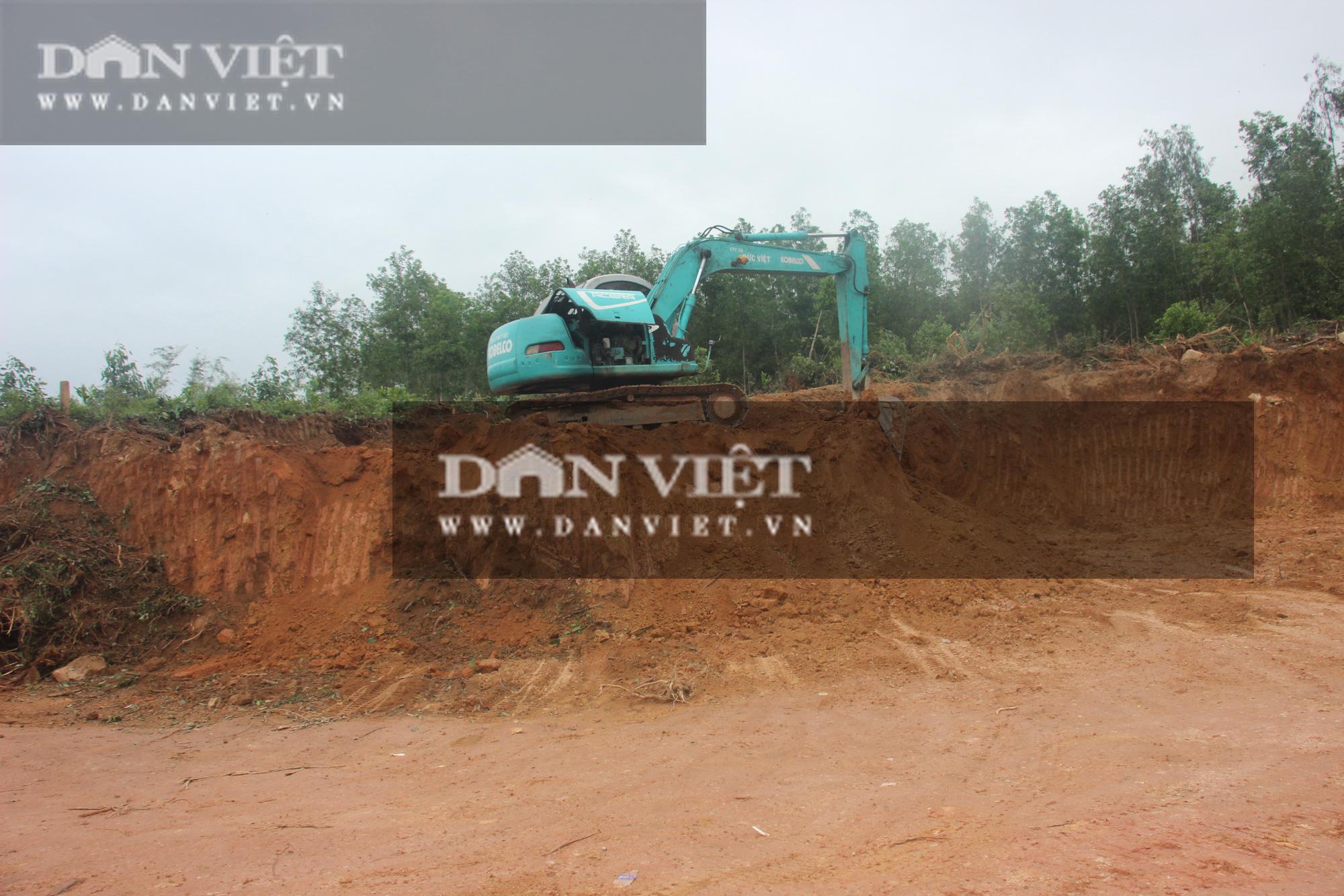 """Bất thường thi công công trình nhà nước chục tỷ ở Bình Định: Sẽ hợp thức hóa """"đất lậu""""… từ mỏ có giấy phép(?) - Ảnh 3."""
