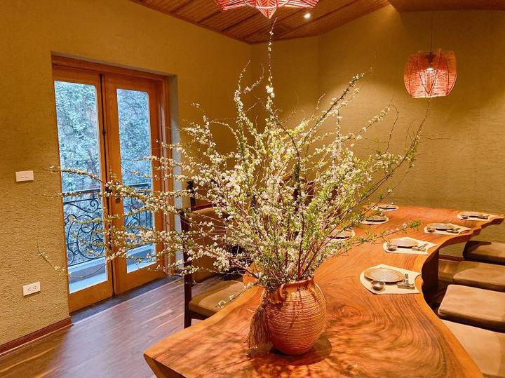 Bỏ túi ngay cách cắm hoa tuyết mai trang trí nhà cửa dịp Tết - Ảnh 5.
