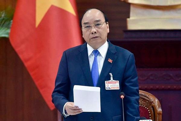Thủ tướng Nguyễn Xuân Phúc triệu tập họp khẩn về Covid-19 tại nơi tổ chức Đại hội XIII - Ảnh 1.