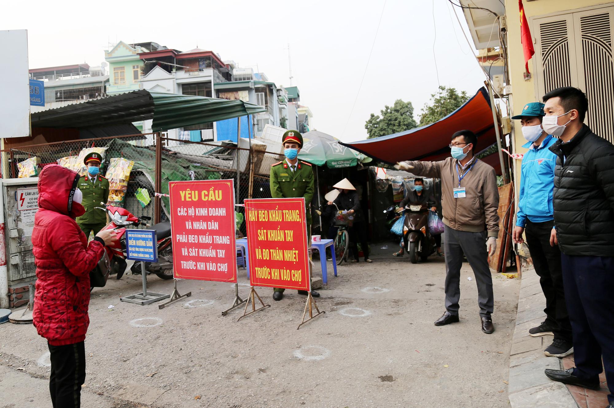 Quảng Ninh: Phong tỏa tạm thời một chợ tại TP.Hạ Long - Ảnh 1.