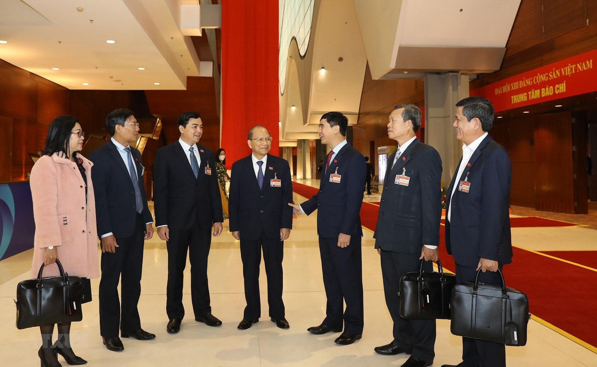 Ảnh: Ngày 29/1, Đại hội XIII tiếp tục làm việc về công tác nhân sự - Ảnh 1.