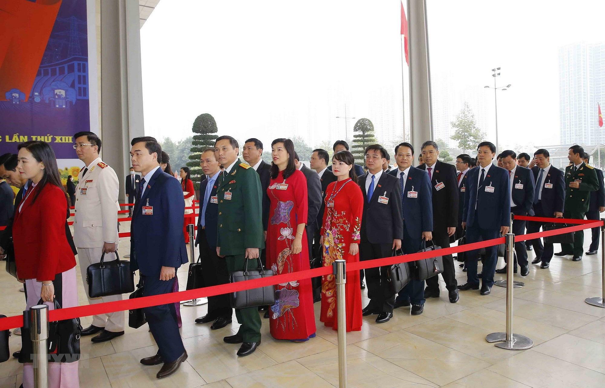Ảnh: Ngày 29/1, Đại hội XIII tiếp tục làm việc về công tác nhân sự - Ảnh 11.