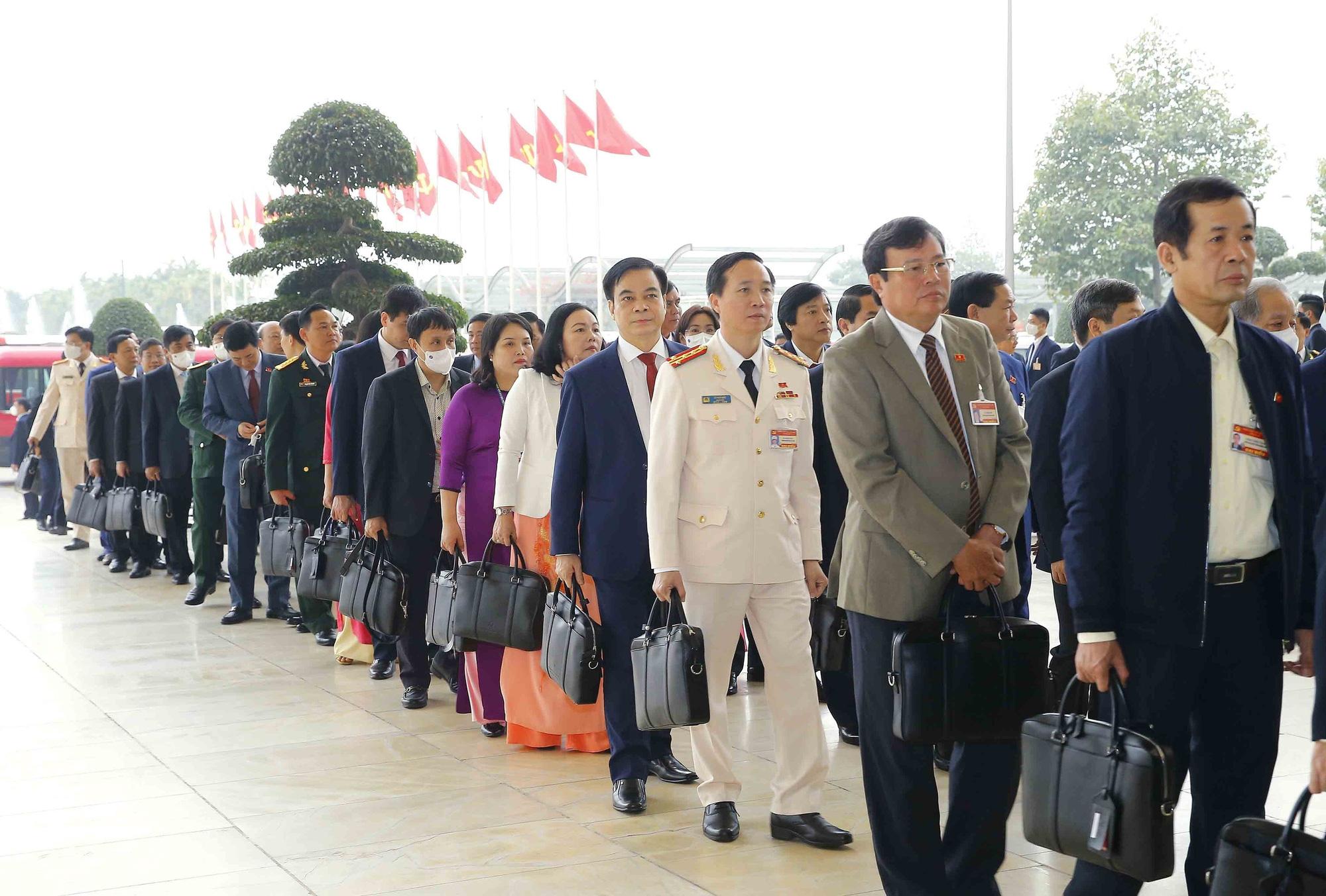 Ảnh: Ngày 29/1, Đại hội XIII tiếp tục làm việc về công tác nhân sự - Ảnh 12.