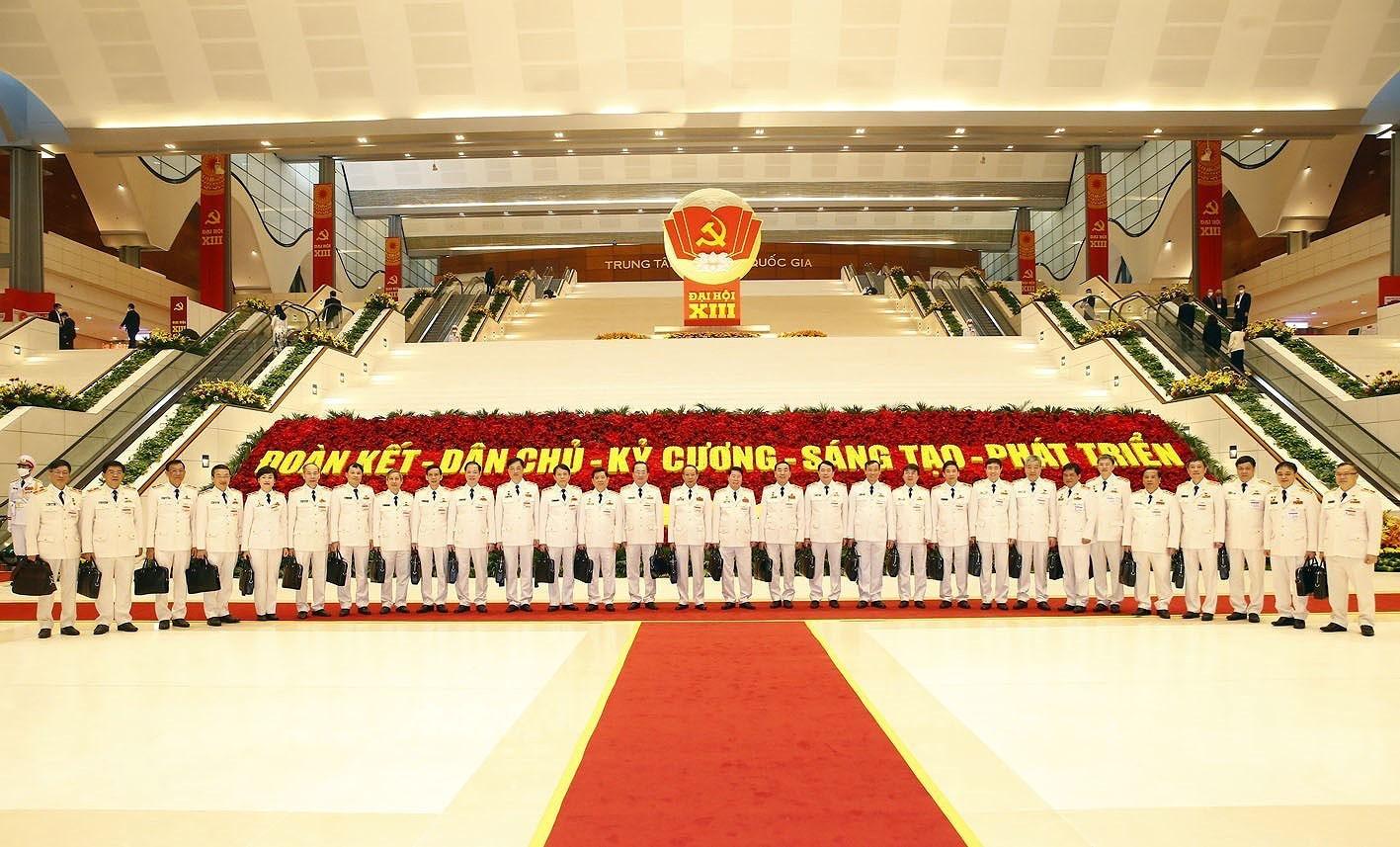 Ảnh: Ngày 29/1, Đại hội XIII tiếp tục làm việc về công tác nhân sự - Ảnh 14.