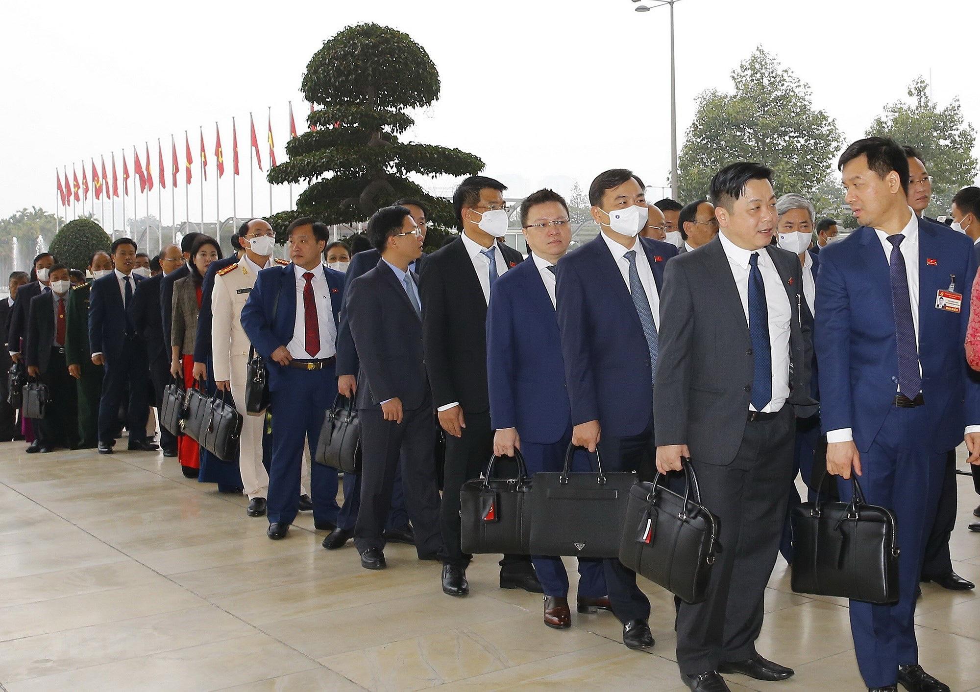 Ảnh: Ngày 29/1, Đại hội XIII tiếp tục làm việc về công tác nhân sự - Ảnh 16.