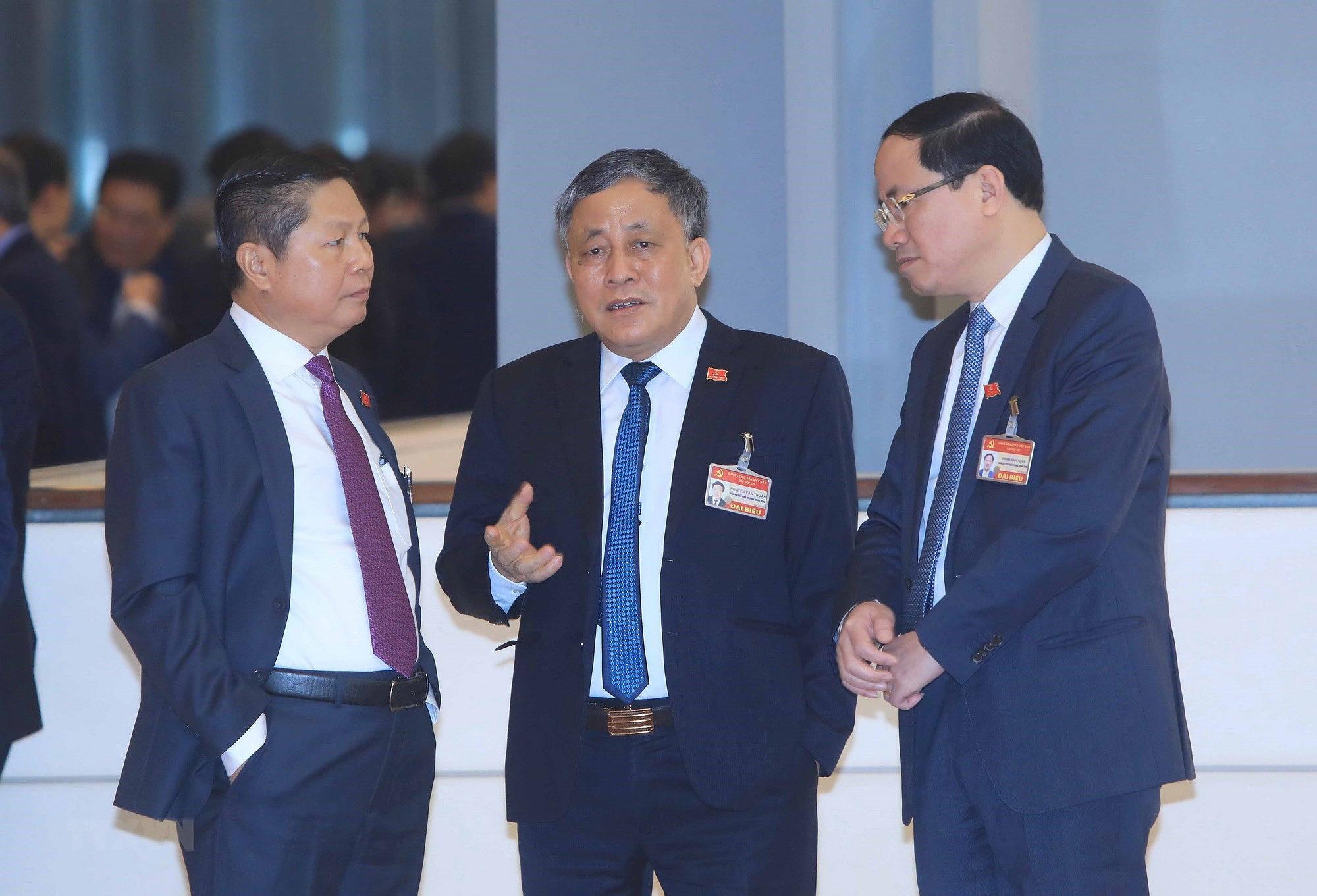 Ảnh: Ngày 29/1, Đại hội XIII tiếp tục làm việc về công tác nhân sự - Ảnh 3.