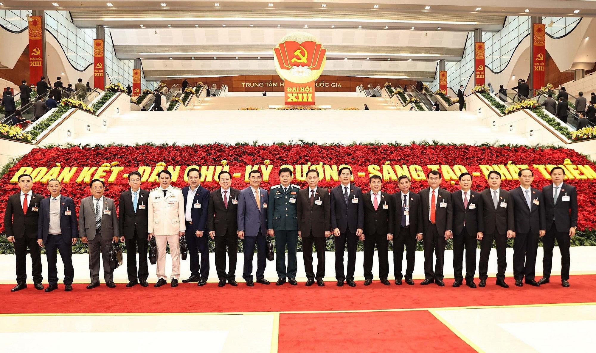 Ảnh: Ngày 29/1, Đại hội XIII tiếp tục làm việc về công tác nhân sự - Ảnh 4.