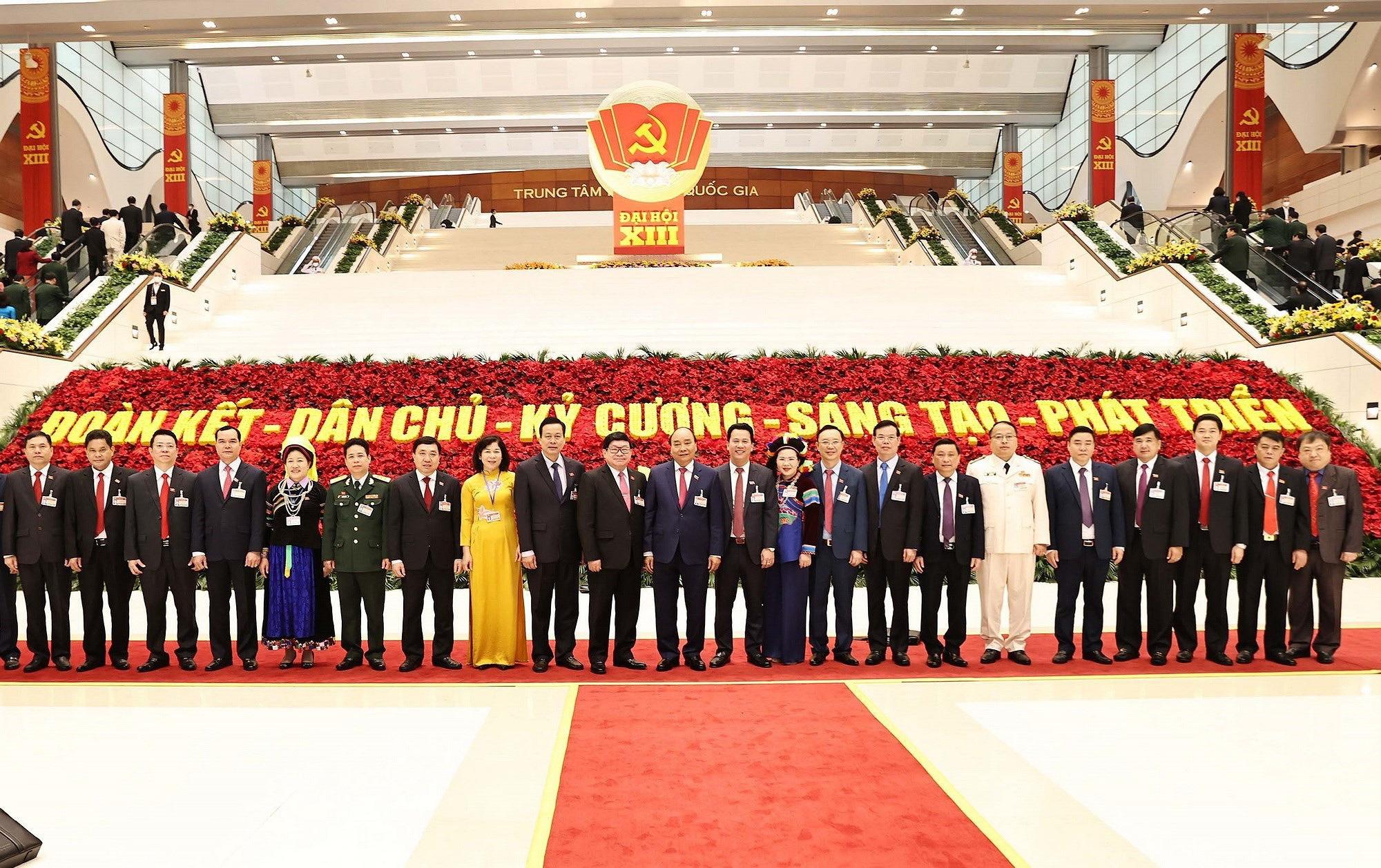 Ảnh: Ngày 29/1, Đại hội XIII tiếp tục làm việc về công tác nhân sự - Ảnh 7.