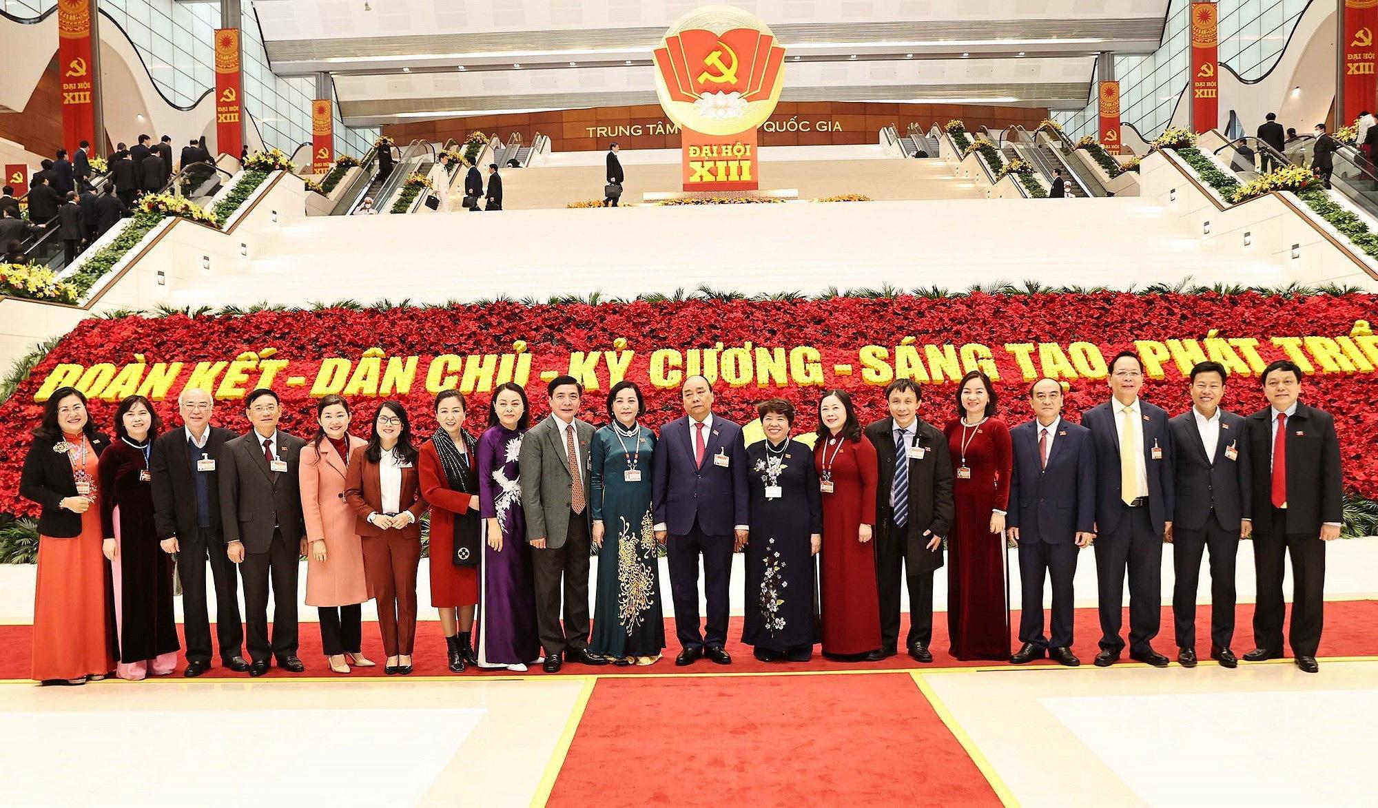 Ảnh: Ngày 29/1, Đại hội XIII tiếp tục làm việc về công tác nhân sự - Ảnh 8.