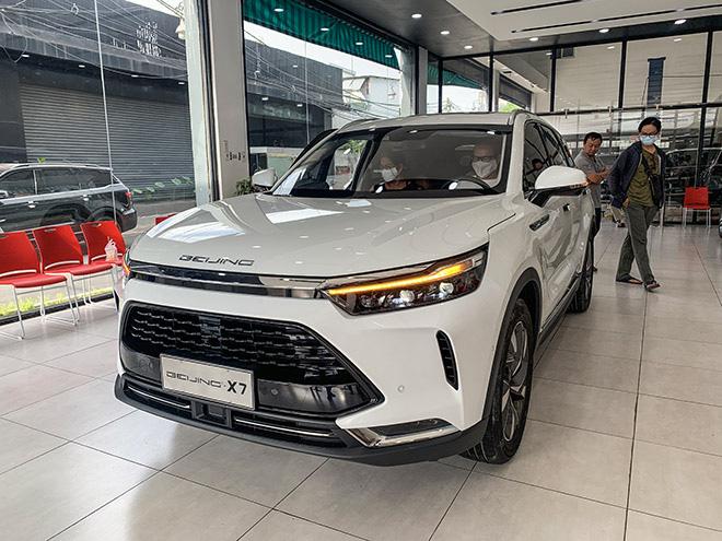 Kì lạ doanh số xe Trung Quốc Beijing X7 - Ảnh 1.