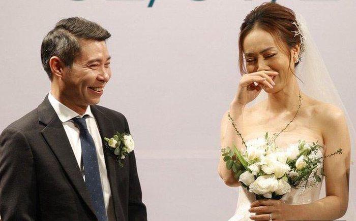 Toàn cảnh đám cưới lần ba của NSND Công Lý với cô dâu xinh đẹp kém 15 tuổi - Ảnh 12.