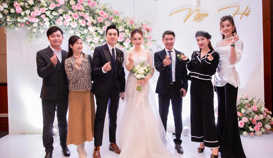 Toàn cảnh đám cưới lần ba của NSND Công Lý với cô dâu xinh đẹp kém 15 tuổi - Ảnh 7.