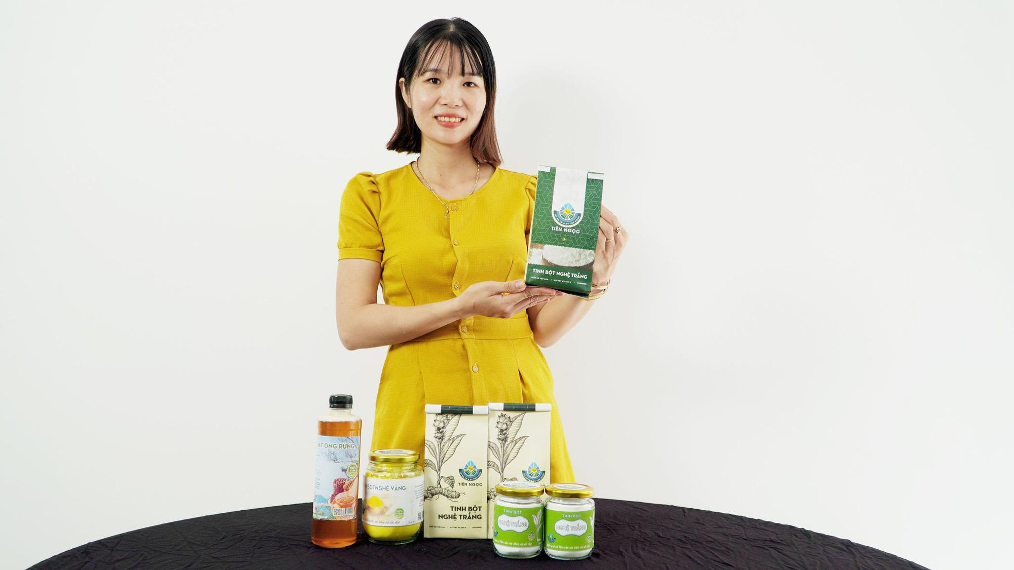 Quảng Nam: Nữ 9X biến củ nghệ trắng thành sản phẩm có giá trị kinh tế cao - Ảnh 1.
