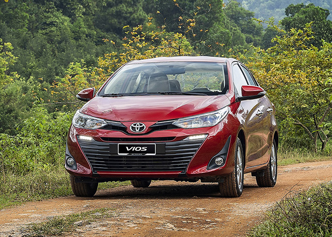 Xe Toyota Vios giá lăn bánh bao nhiêu tháng 1/2021? - Ảnh 1.