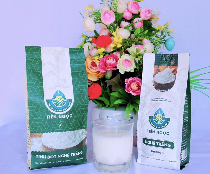 Quảng Nam: Nữ 9X biến củ nghệ trắng thành sản phẩm có giá trị kinh tế cao - Ảnh 6.