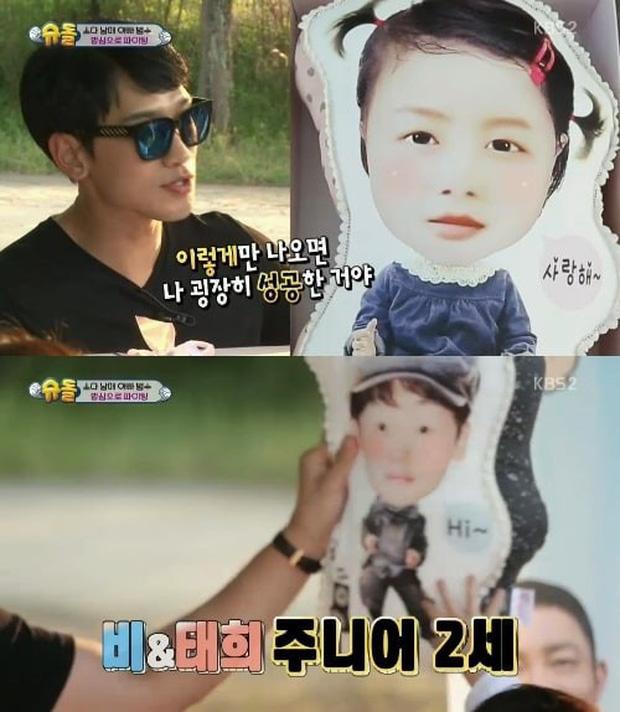 Cuối cùng Bi Rain đã hé lộ chi tiết về nhan sắc của 2 con gái, đặc điểm giống Kim Tae Hee khiến dân tình vỡ oà - Ảnh 5.