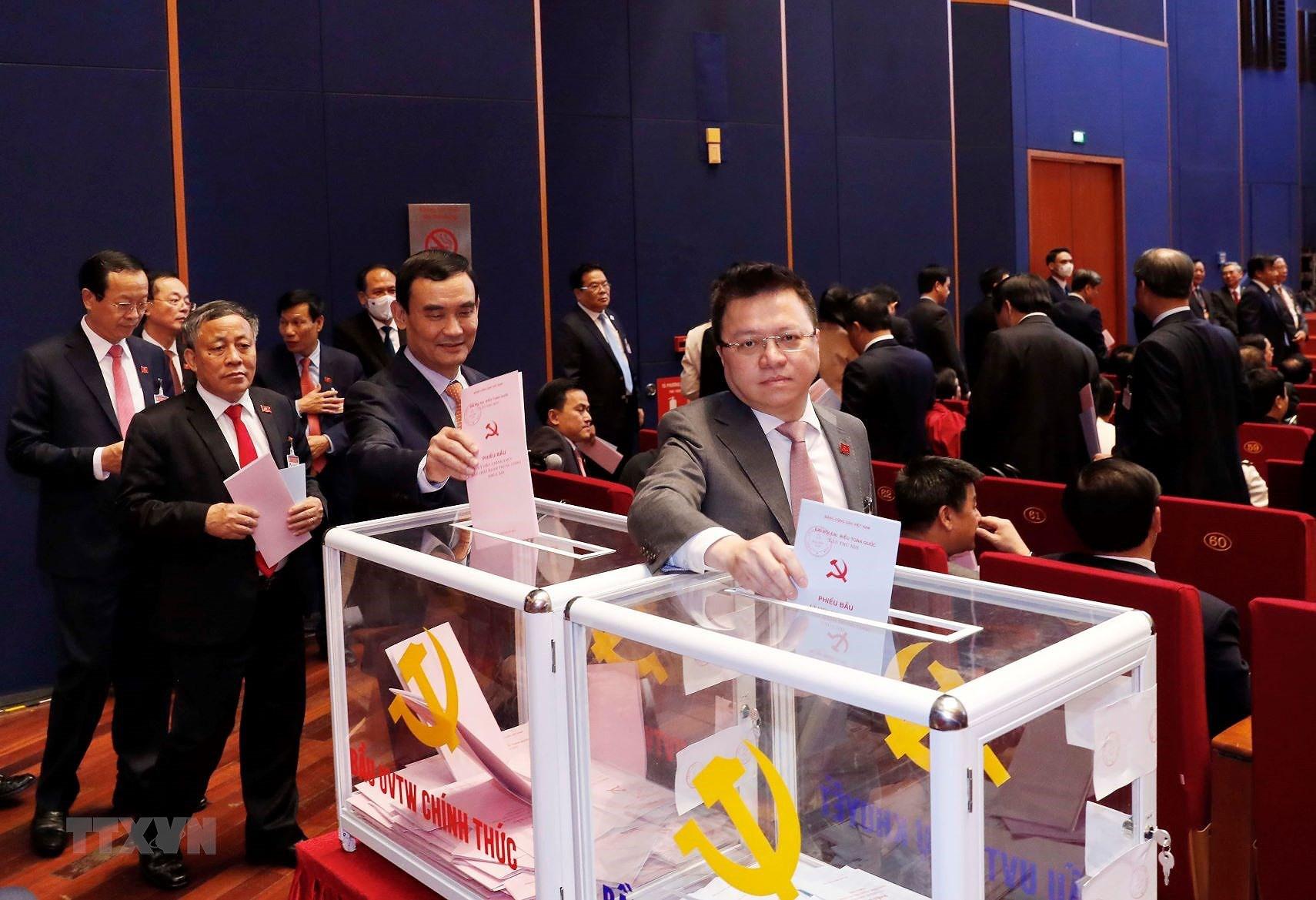 Đại hội XIII đã bỏ phiếu bầu Ban Chấp hành Trung ương khóa mới - Ảnh 7.
