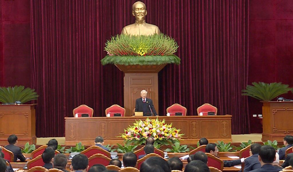 Ảnh: Hội nghị lần thứ nhất Ban Chấp hành Trung ương khóa XIII - Ảnh 1.