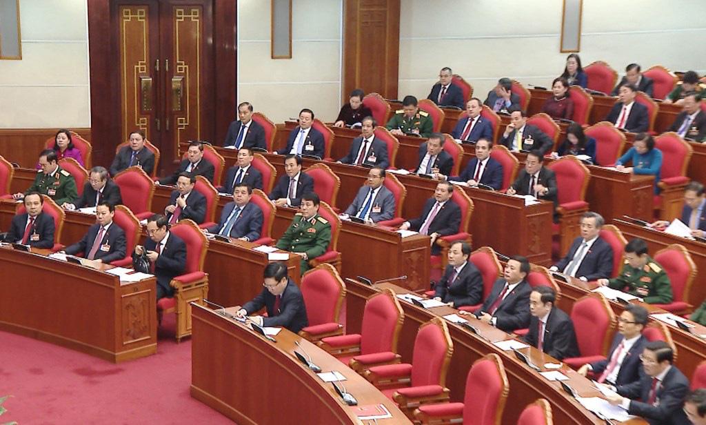 Ảnh: Hội nghị lần thứ nhất Ban Chấp hành Trung ương khóa XIII - Ảnh 10.