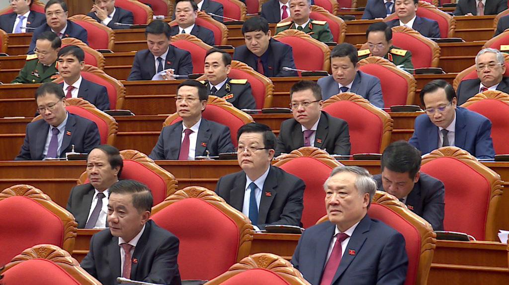 Ảnh: Hội nghị lần thứ nhất Ban Chấp hành Trung ương khóa XIII - Ảnh 12.