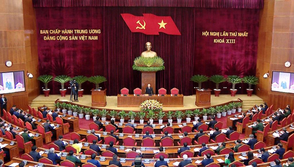 Ảnh: Hội nghị lần thứ nhất Ban Chấp hành Trung ương khóa XIII - Ảnh 14.