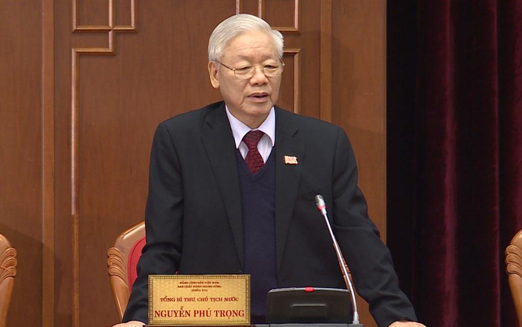 Ảnh: Hội nghị lần thứ nhất Ban Chấp hành Trung ương khóa XIII - Ảnh 2.