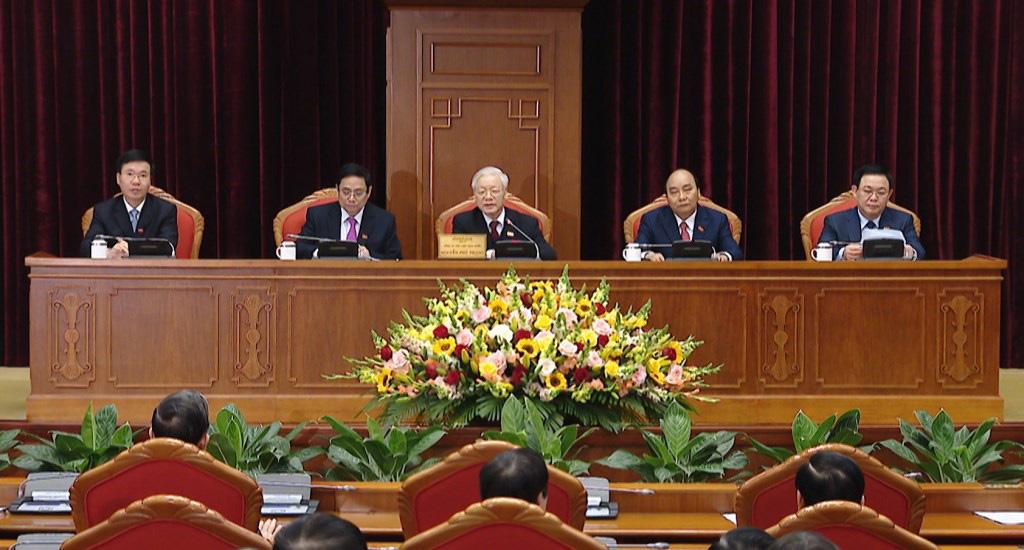Ảnh: Hội nghị lần thứ nhất Ban Chấp hành Trung ương khóa XIII - Ảnh 3.