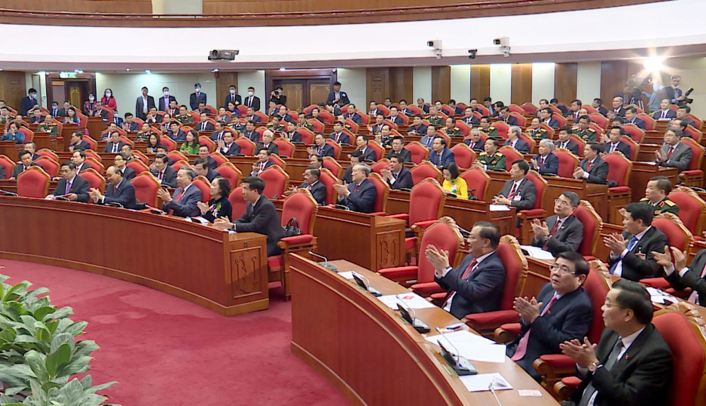 Ảnh: Hội nghị lần thứ nhất Ban Chấp hành Trung ương khóa XIII - Ảnh 4.
