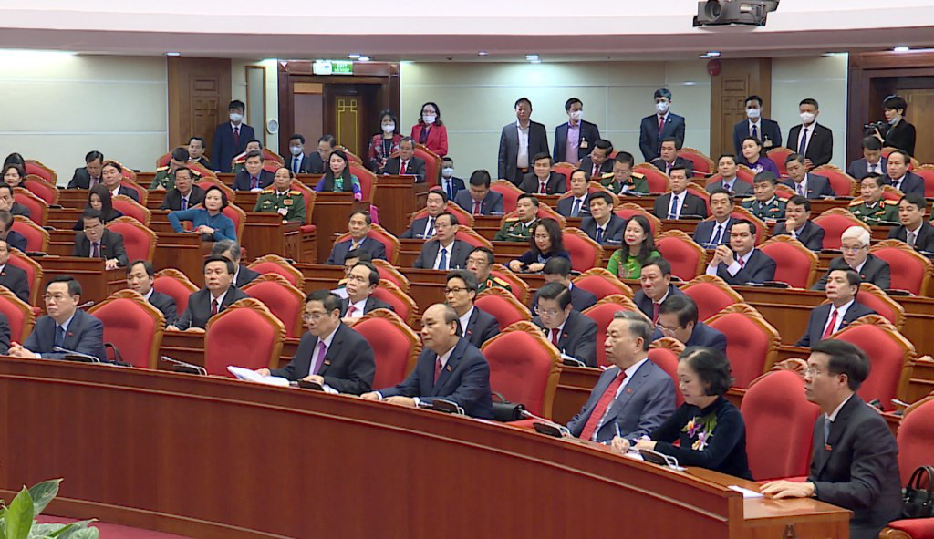 Ảnh: Hội nghị lần thứ nhất Ban Chấp hành Trung ương khóa XIII - Ảnh 5.