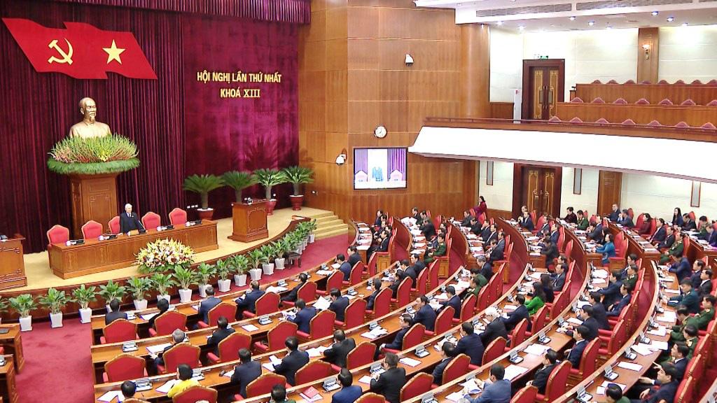 Ảnh: Hội nghị lần thứ nhất Ban Chấp hành Trung ương khóa XIII - Ảnh 6.