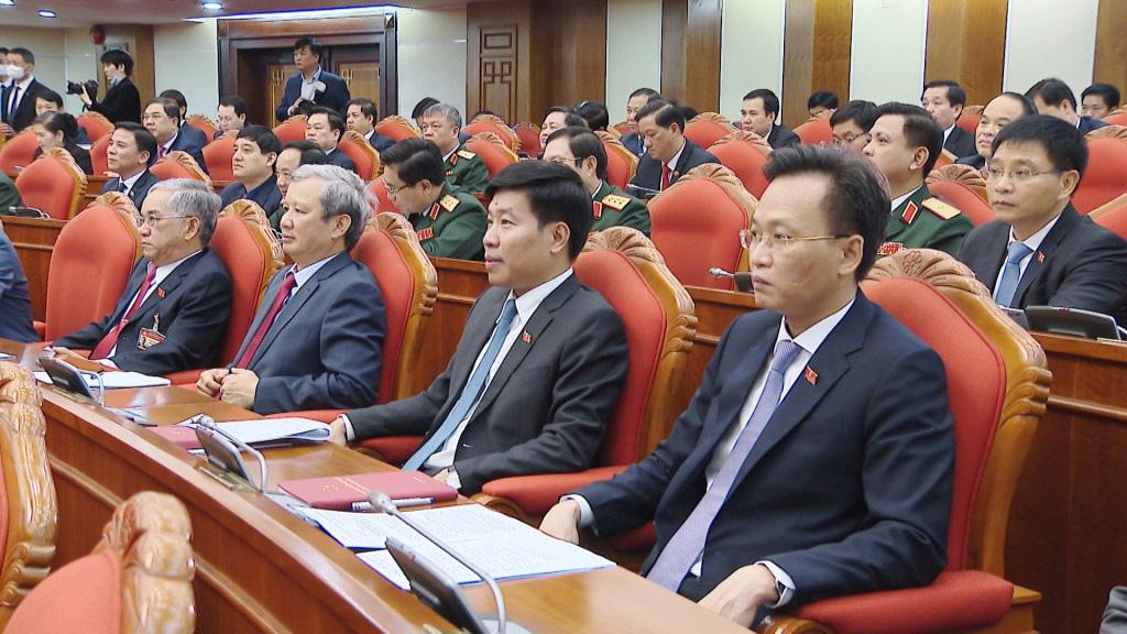 Ảnh: Hội nghị lần thứ nhất Ban Chấp hành Trung ương khóa XIII - Ảnh 7.