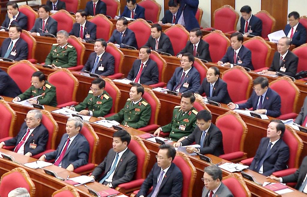 Ảnh: Hội nghị lần thứ nhất Ban Chấp hành Trung ương khóa XIII - Ảnh 9.