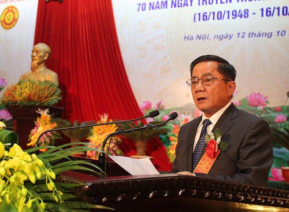 Ủy viên Bộ Chính trị Trần Cẩm Tú tái cử chức Chủ nhiệm Ủy ban Kiểm tra Trung ương - Ảnh 1.
