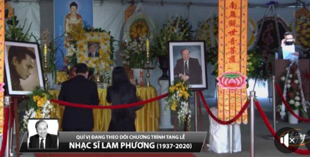 Phút cuối tiễn biệt nhạc sĩ Lam Phương khiến MC Kỳ Duyên nghẹn lòng, khán giả tiếc thương - Ảnh 5.