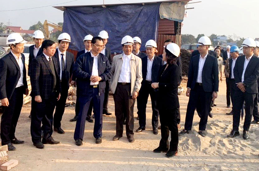 Thái Nguyên tập trung xây dựng TX.Phổ Yên trở thành thành phố trước năm 2025 - Ảnh 1.
