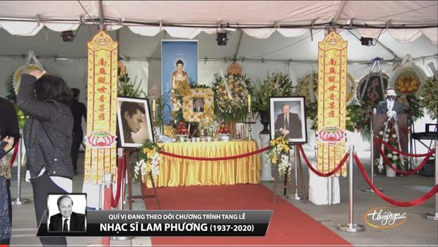 Phút cuối tiễn biệt nhạc sĩ Lam Phương khiến MC Kỳ Duyên nghẹn lòng, khán giả tiếc thương - Ảnh 2.