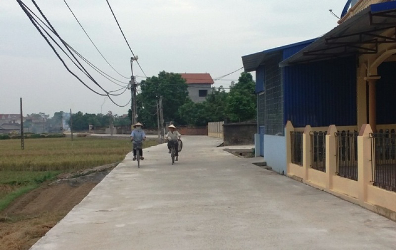 TX.Phổ Yên: Huy động trên 1.400 tỷ đồng xây dựng nông thôn mới - Ảnh 1.