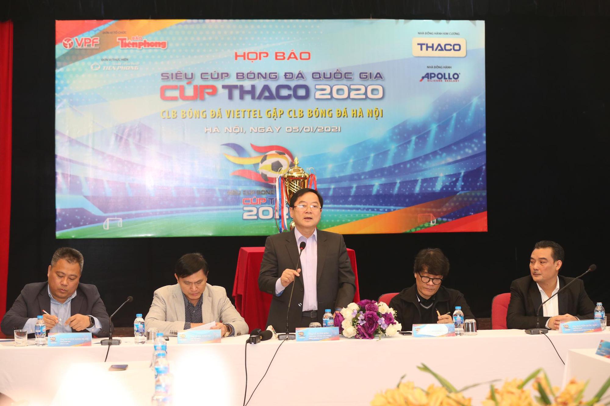 Bất ngờ với giá vé xem Siêu Cúp QG Hà Nội FC đấu Viettel - Ảnh 2.