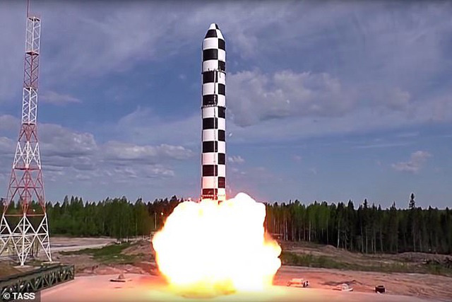 Siêu tên lửa Nga đủ sức hủy diệt khu vực rộng bằng nước Pháp khiến Mỹ phải dè chừng - Ảnh 1.