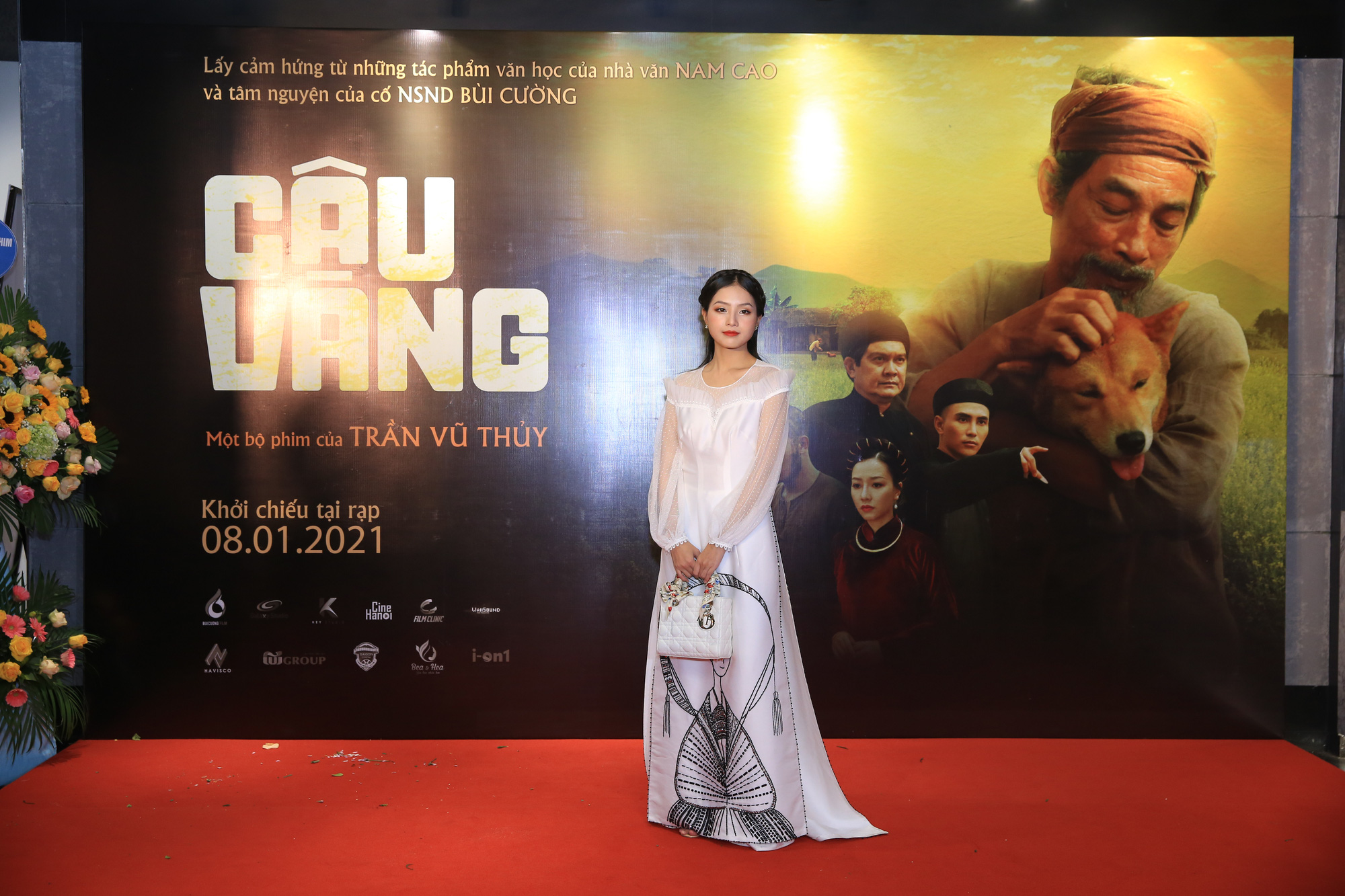 """Dàn diễn viên bắc nam đổ bộ tại buổi ra mắt """"Cậu Vàng"""" tại Hà Nội - Ảnh 6."""