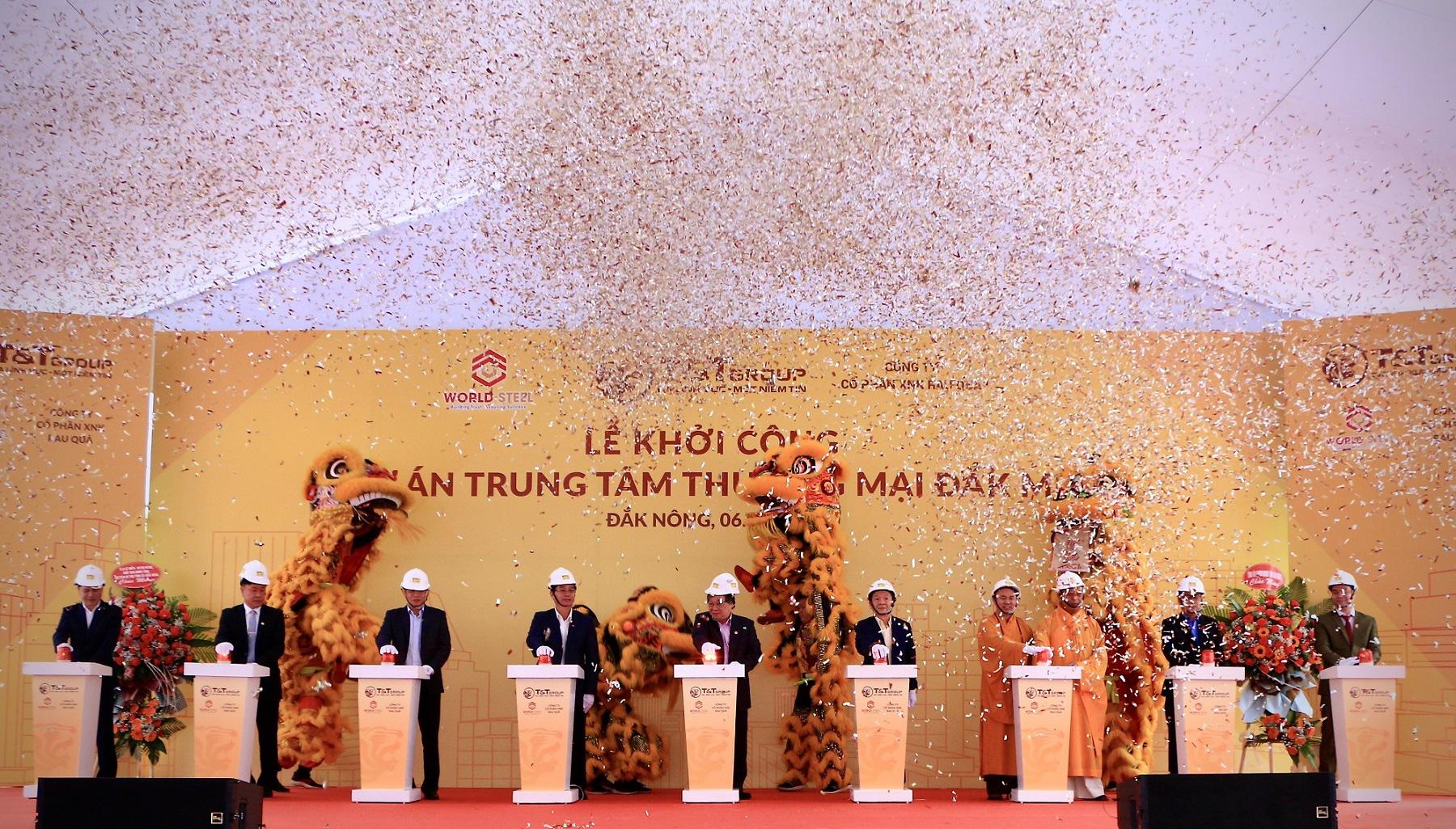 T&T Group khởi công xây dựng Trung tâm thương mại hiện đại tại Đắk Nông - Ảnh 1.