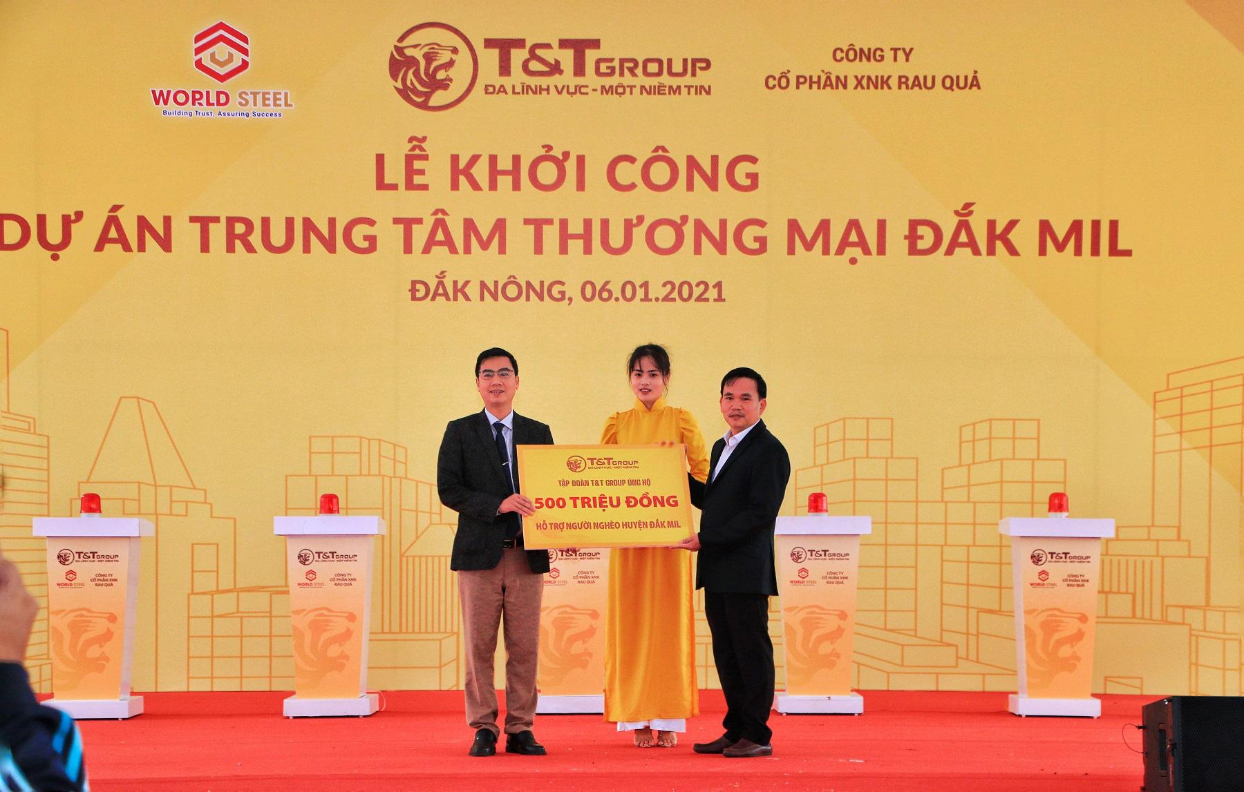 T&T Group khởi công xây dựng Trung tâm thương mại hiện đại tại Đắk Nông - Ảnh 3.