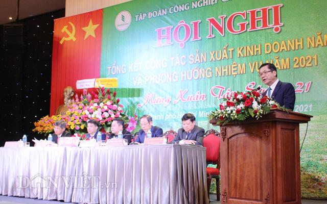 Tự tin vượt khó, Tập đoàn công nghiệp cao su Việt Nam nâng mục tiêu doanh thu năm nay lên 27.100 tỷ đồng - Ảnh 1.
