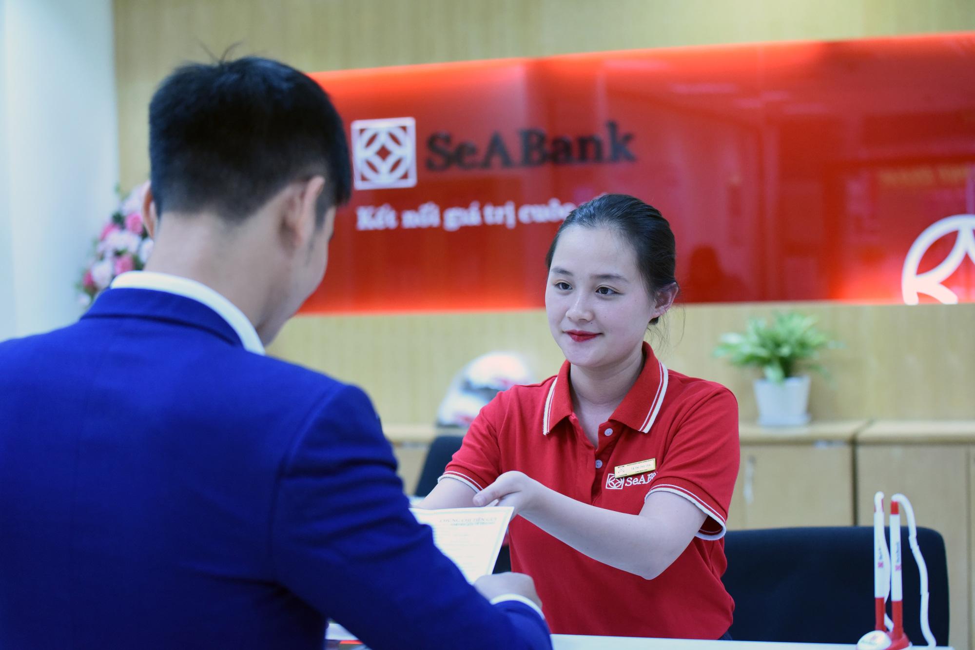 SeABank hoàn thành tăng vốn điều lệ lên gần 12.088 tỷ đồng, được chấp thuận niêm yết hơn 1,2 tỷ cổ phiếu trên HOSE - Ảnh 1.