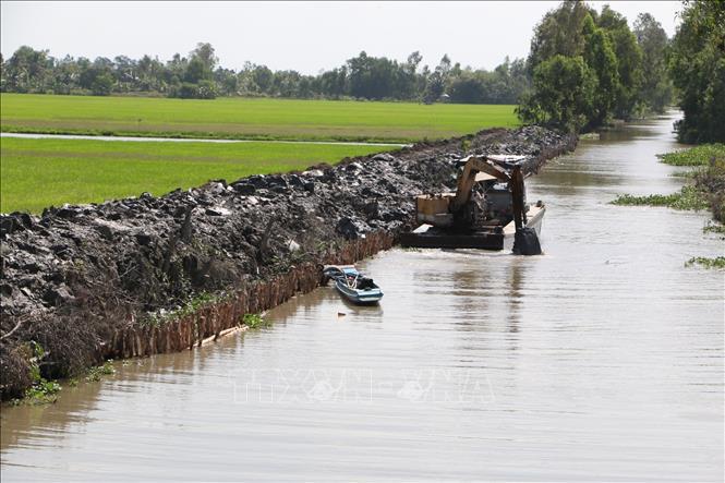 Năm 2021, tháng mấy thì xâm nhập mặn đạt ngưỡng cao nhất ở các cửa sông tại ĐBSCL, có nghiêm trọng như năm 2020? - Ảnh 1.