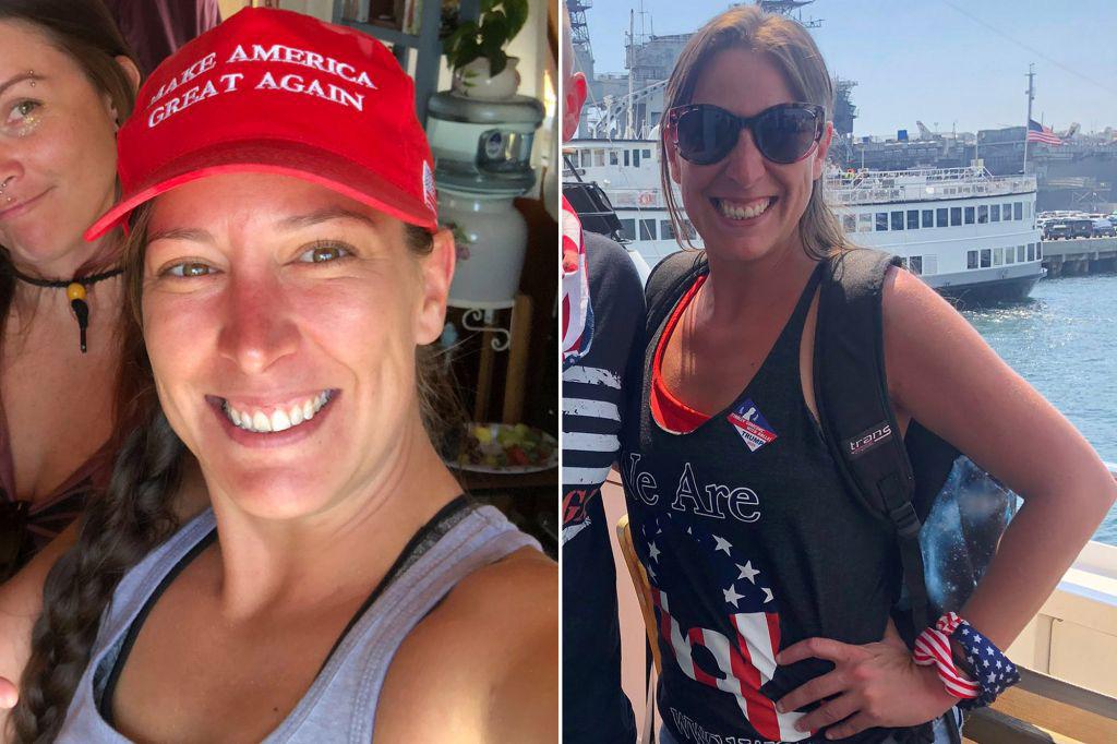Bất ngờ thân thế người phụ nữ bị bắn chết trong tòa nhà Quốc hội Mỹ - Ảnh 1.