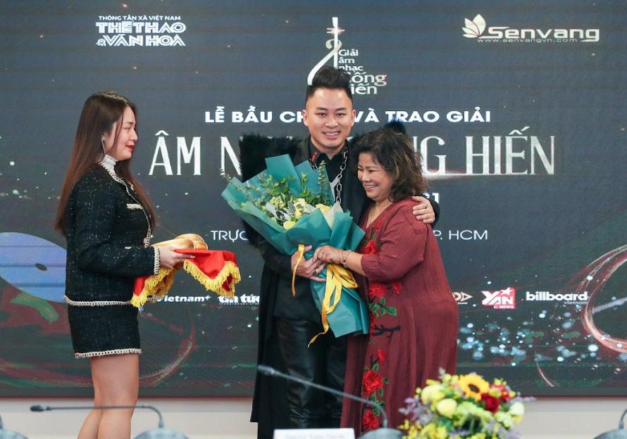 Giải thưởng Cống hiến 2021: Tùng Dương thắng lớn, Đen Vâu lần đầu được vinh danh - Ảnh 1.