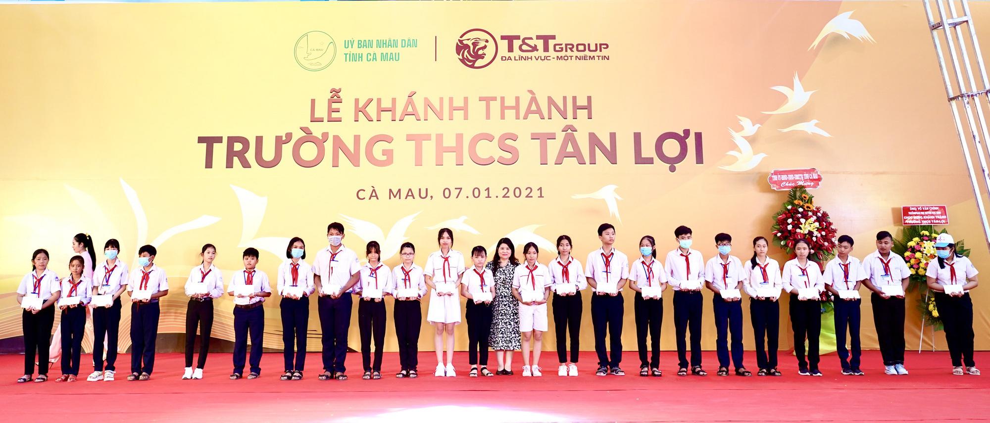 Tập đoàn T&T Group tài trợ xây dựng trường học tại tỉnh Cà Mau - Ảnh 3.